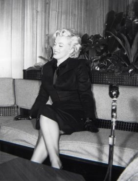 """Marilyn Monroe, Press Photo For """"Prince And The Show"""