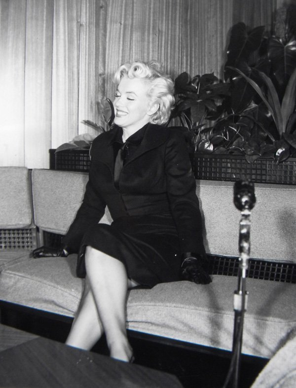 """8: Marilyn Monroe, press photo for """"Prince and the Show"""