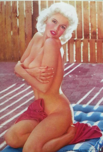 53: Jayne Mansfield, Playboy Playmate, No. 513, 16.5 x