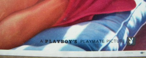 53: Jayne Mansfield, Playboy Playmate, No. 513, 16.5 x  - 3