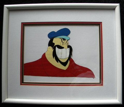 174: Brutus (from Popeye), animation cell (gouache on c - 2