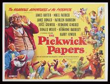 THE PICKWICK PAPERS - VINTAGE POSTER by Eric Pulford