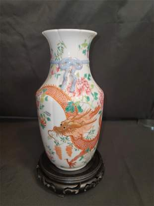 Qing Dynasty Qianlong Period Made Mark Famille Rose