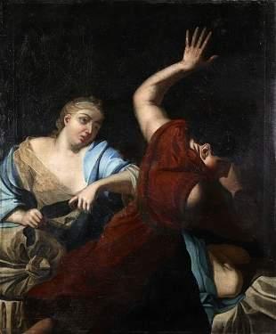 NO RESERVE PRICE XVII Italian Old Master Painting