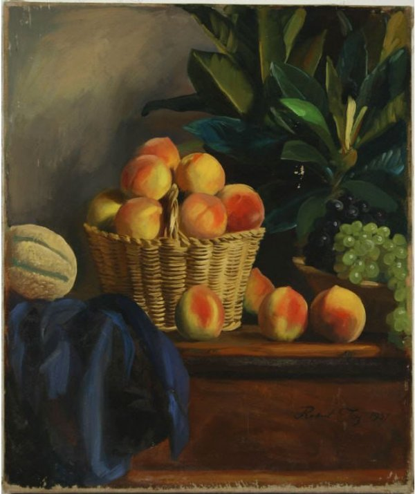 5: Joy, Robert - Still Life with Peaches