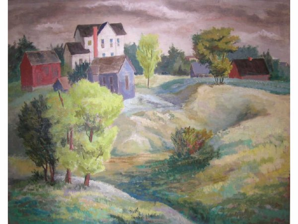 7: Utter, Bror  - Landscape With Houses