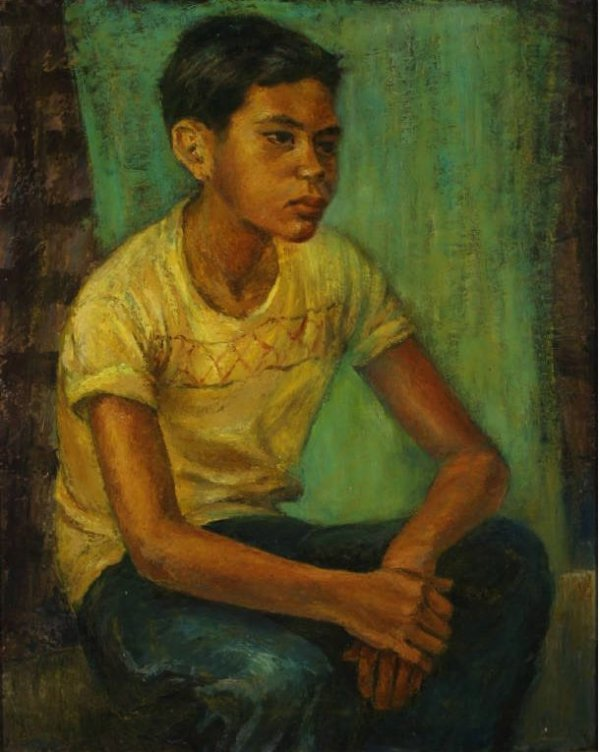 18: Pollard, Juanita Tittle - Portrait of a Boy