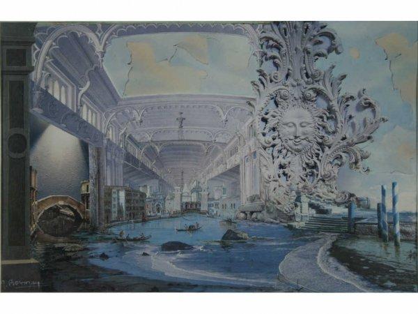 164: Bezmen, Michel - Lot of Three Collages