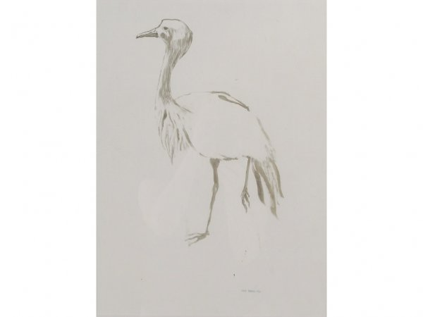 177: Fearing. Kelly - Study for Egret