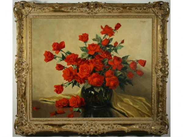 182: Greer, A.D. - Still Life with Roses