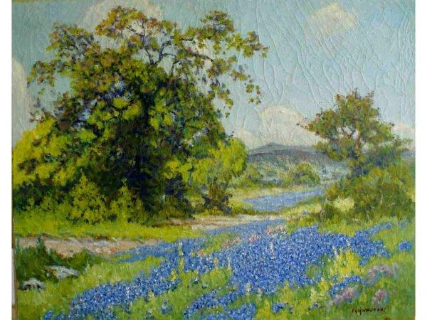 184: Hohnstedt, P.L. -  Texas Bluebonnet Landscape