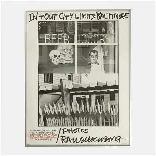 Robert Rauschenberg, Exhibition Poster