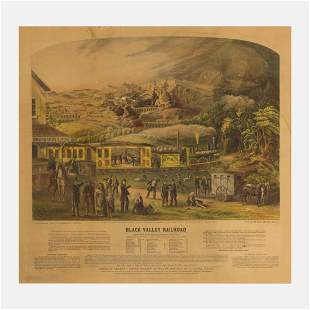 Ch. Crosby, Black Valley Railroad