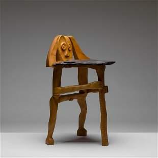 Jeffrey Cooper, Man with Staff Chair