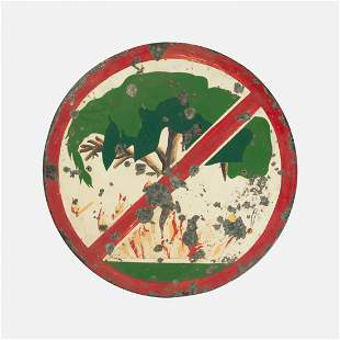 Street Sign, Forest Fire Prevention