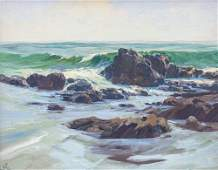 Ralph Love oil painting Lowtide
