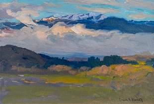 Franz Bischoff oil painting San Gabriels
