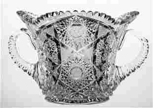Blackmer Constellation Brilliant Cut Glass Ice Bucket