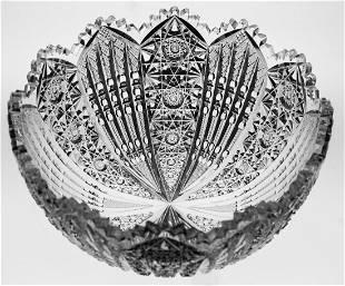 Unusual Graduating Russian/Persian Brilliant Cut Glass