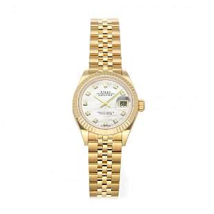 Rolex Datejust 28 Yellow Gold Diamond Watch 279178