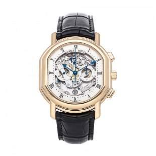 Daniel Roth Academic Ellipsocurvex 18k Gold Watch
