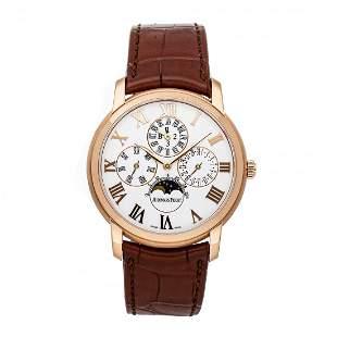 Audemars Piguet Jules Audemar Perpetual 18k Gold Watch