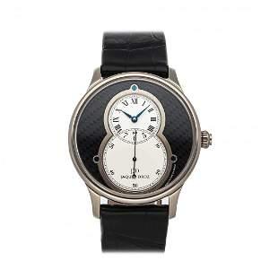Jaquet Droz Grande Seconde 18k White Gold Watch