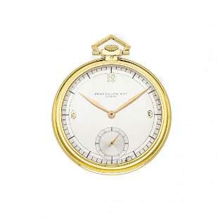 Patek Philippe Vintage Pocket Watch 18k Yellow Gold