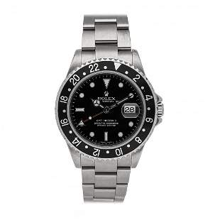 Rolex GMT-Master II Steel Watch 16710