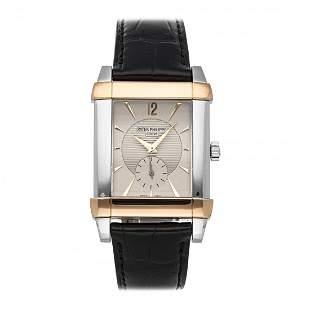 Patek Philippe Gondolo Platinum Gold Watch 5111PR-001