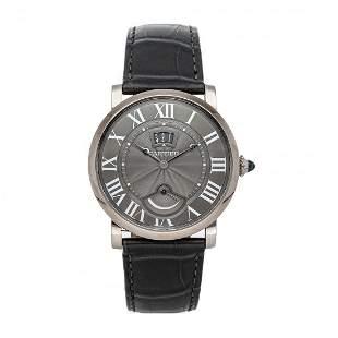 Cartier Rotonde 18k White Gold Watch W1556253