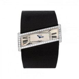 Cartier Diagonale 18k Gold Diamond Watch WJ302871