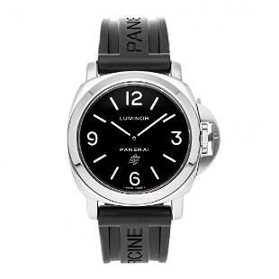 Panerai Luminor Base Logo Steel Watch PAM 000