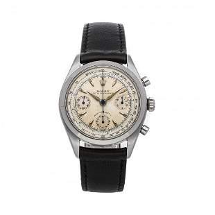 Rolex Vintage Chronograph 36mm Steel Watch 6234