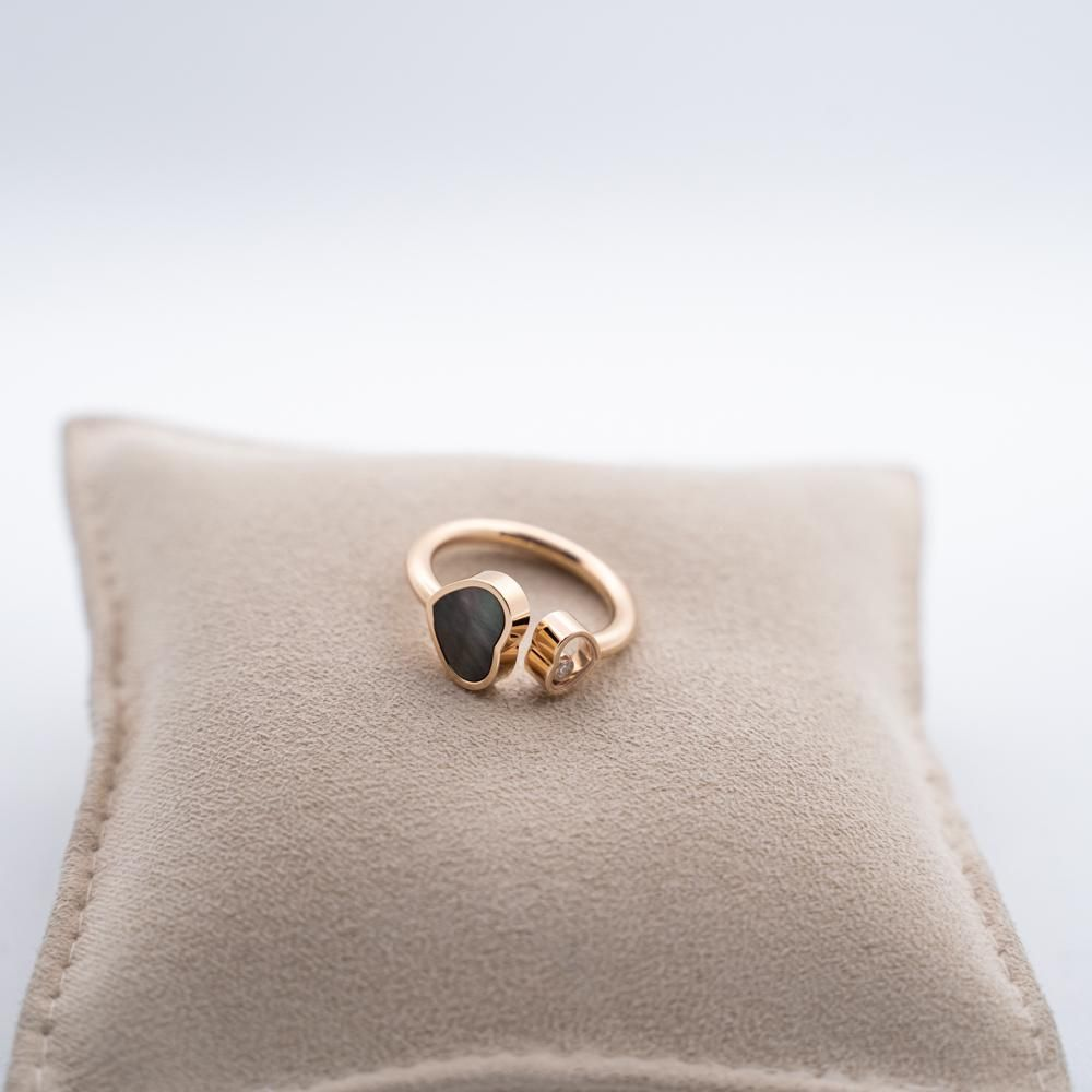 """Chopard ring from """"happy hearts"""" collection."""