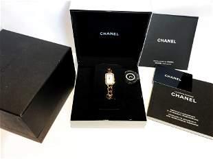 CHANEL Premier 18K Rose Gold Lady's Watch w/ Diamond
