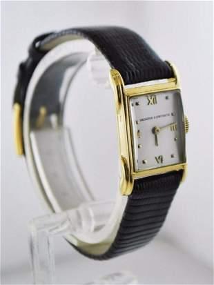 VACHERON CONSTANTIN Rare Ladies 18K Yellow Gold