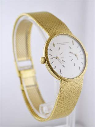 VACHERON CONSTANTIN #2088 Dual-Time 18K Yellow Gold