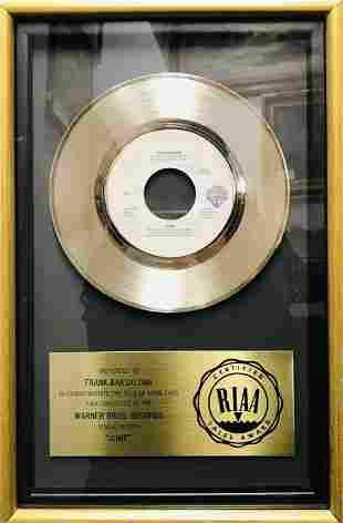 """VAN HALEN """"JUMP"""" GOLD RECORD, 1984 - APR $10K Value!*"""