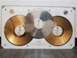 VAN HALEN 2 Gold, 1 Platinum Album, Presented to Jane