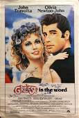 """""""Grease"""" Original 1978 Movie Poster Signed by John"""