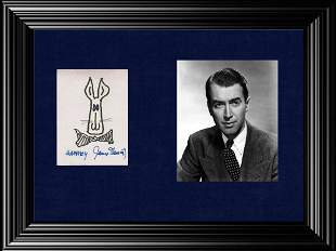 Veteran Actor JIMMY STEWART One of a Kind Signed
