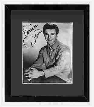 DION DIMUCCI 1960s Autographed Black and White Portrait