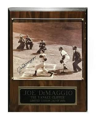 Joe DiMaggio, 1970s Autographed Ltd. Edition Photograph