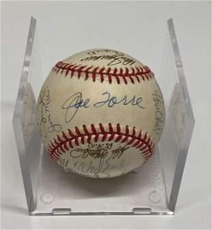 NEW YORK YANKEES Rare 1996 Team-Signed Baseball - $8K