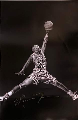Michael Jordan Signed Poster