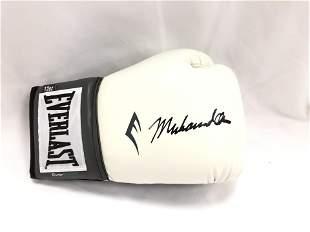 Muhammad Ali Signd Boxing Glove