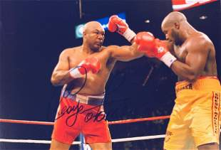 George Foreman Signed Photo