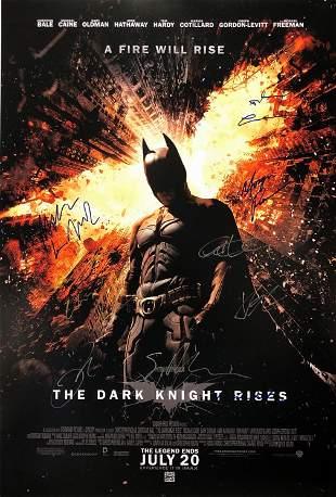 Batman Dark Knight Rises Poster Christian Bale Gary