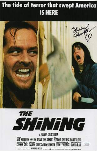 Autograph Signed Shelley Duvall Poster